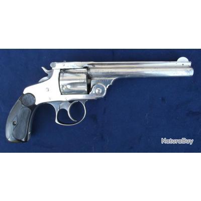 "Smith&Wesson DA 38 3e modèle 1880/82 canon long 5""1/2"