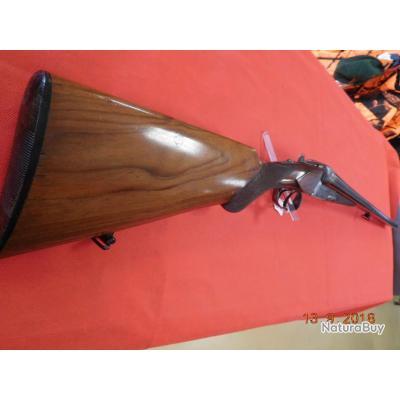 Fusil juxtaposé Artisanal Belge Ou Liégeois d'occasion 70 mm 68 cm
