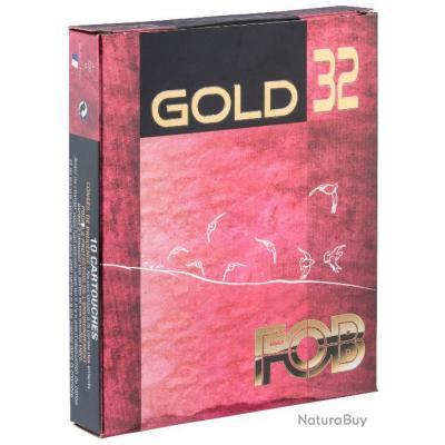 BOITE 10 CARTOUCHES FOB GOLD 32 CAL 16/70 N°6