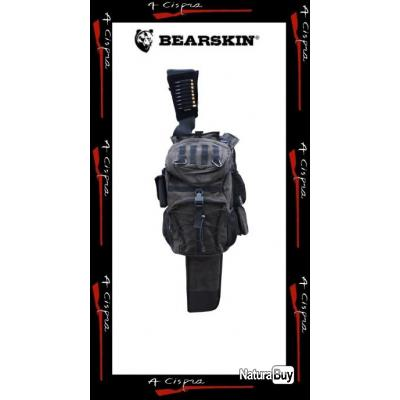 Sac à Dos léger de chasse BEARSKIN avec fourreau d'arme intégré BEARCASE LIGHT