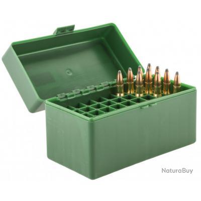 Boite Mégaline de rangement 50 munitions 243 WIN, 308Win NEW