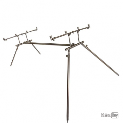a1de635a3a ROD POD 4 CANNES EURO STAINLESS DK TACKLE - Rod Pods (5091439)