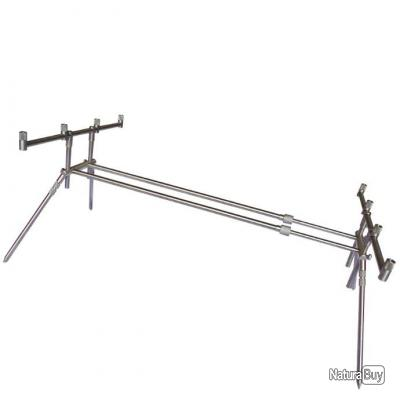 9ef57f210b ROD POD INOX 4 CANNES COMPACT STABILITY DK TACKLE - Rod Pods (5091444)