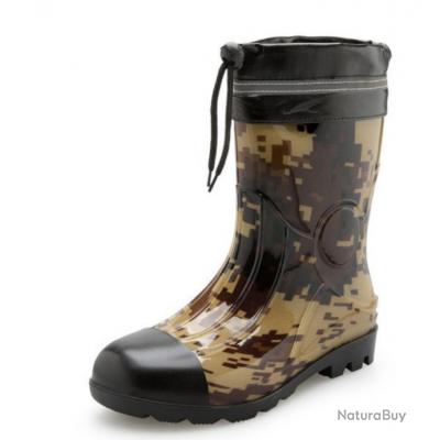 7a5d9ef0cc Bottes étanches n°2 Mi-mollet Taille 45 PROMOTION - Chaussures (5091913)