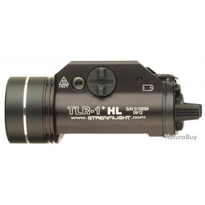 LAMPE STREAMLIGHT TLR-1 HL - NOIRE