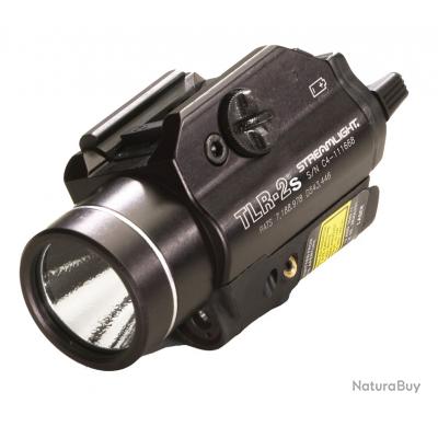 LAMPE STREAMLIGHT TLR-2S - NOIRE - AVEC STROBE
