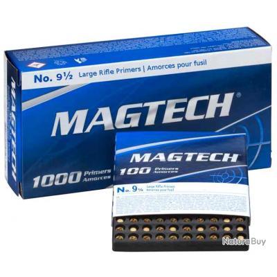 Amorces Magtech Large Rifle x1000