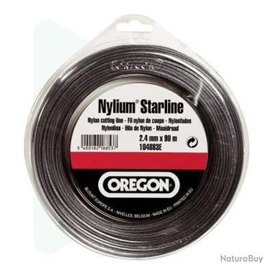 Fil nylium STARLINE pour débroussailleuses coque 3 mm 60m