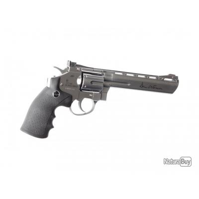 """Réplique revolver Dan wesson 6 pouces Silver Low Power"""