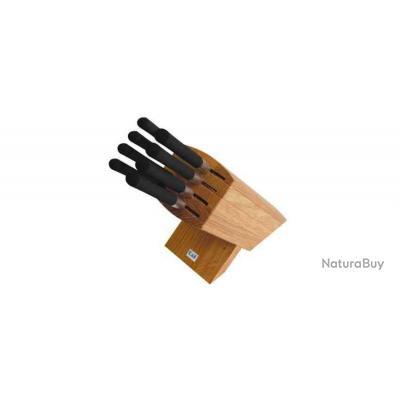 Kai 6799 Porte-couteaux Wasabi avec 8 couteaux