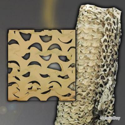 Filet de camouflage - rouleau de 78m/2.40m -  desert - 469265