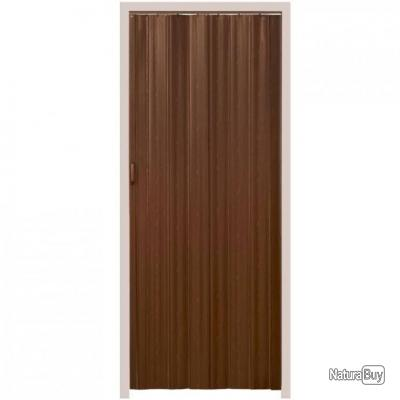 Porte accordéon pliante PVC salle de bain extensible coulissante ...
