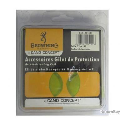 KIT PROTECTION ÉPAULES - BROWNING jaune