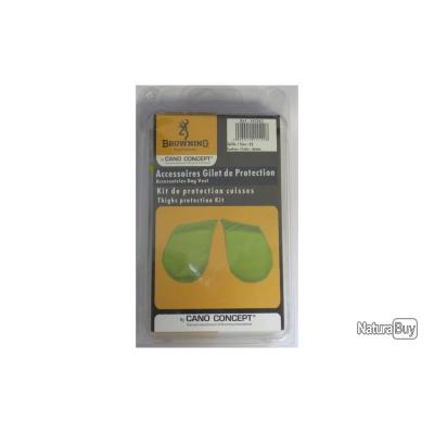 KIT PROTECTION CUISSES - BROWNING jaune 70/75 cm