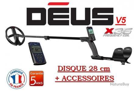3 accessoires offerts T/él/écommande d/étecteur de m/étaux XP DEUS V5