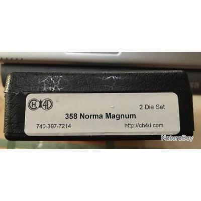 Jeu d'outils CH4D calibre 358 Norma Magnum