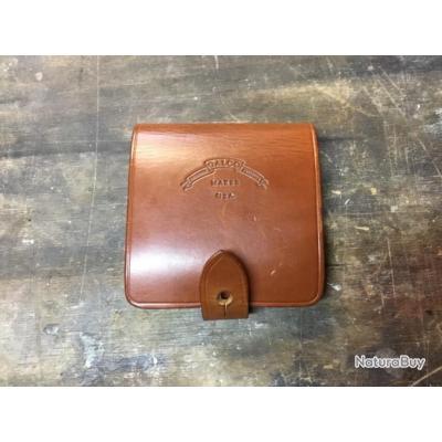 Cartouchière «Safari five» en cuir