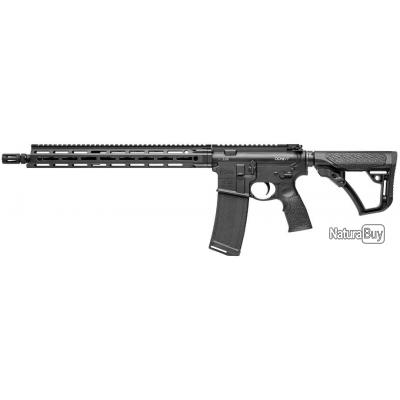 Daniel Defense Carabine M-4 semi-automatique noire canon de 16 pouces cal. 5.56