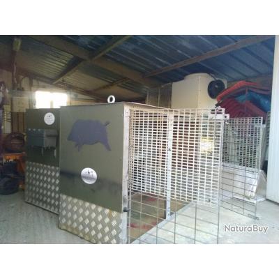 caisse transport pour chien pour 4x4 pick up cages. Black Bedroom Furniture Sets. Home Design Ideas