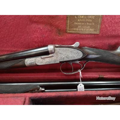 Fusil Juxtaposé à Platine cal 28