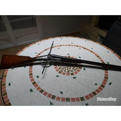 Rare fusil a chiens Cal 14