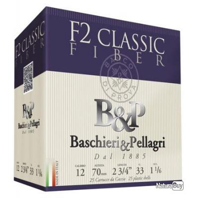 Cartouche CAL 12/70 - F2 CLASSIC FIBER - n°6 - BASCHIERI & PELLAGRI
