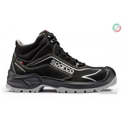 Conception innovante fbea5 d78c1 Chaussures de sécurité hautes Sparco Teamwork Endurance-H Noir 38