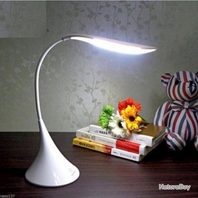 Lampe De Chevet Bureau Chambre Design Flexible 12 Led Rechargeable