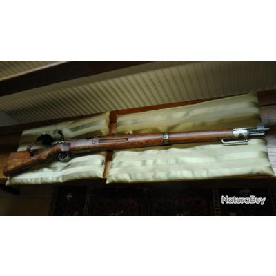 UNIQUE: carabine d'artillerie MAUSER, 1917, bretelle d'origine et aiguille de protection de culasse