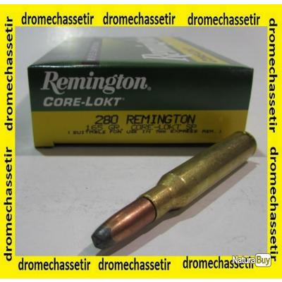 1 boite neuve de 20 cartouches  de calibre 280 Remington, corelokt 165 grains