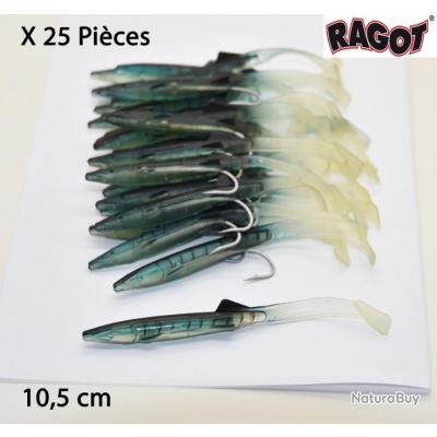Boite de 25 Raglou 10,5cm Ragot (ref : 11435)