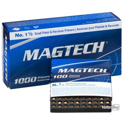 100 Amorces Magtech Small pistol