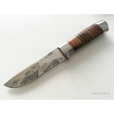 Magnifique couteau marque russe Boik N-207 à 1 € sans prix de réserve!!!