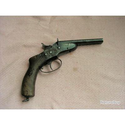 Rare Pistolet Nagant de la Gendarmerie Belge Modele 1877
