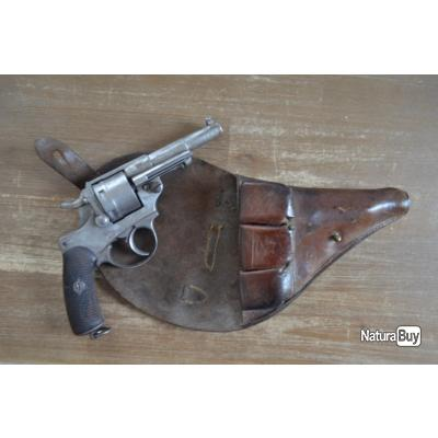 Revolver réglementaire CHAMELOT DELVIGNE 1873 et son Etui