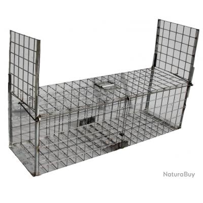 cage piège capture 2 entrées 095x30x30 galvanisée