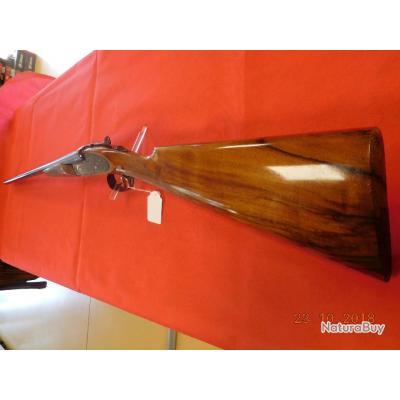 Fusil juxtaposé Ugartechea d'occasion 20/76 mm Canons 70 cm, jolis bois, à platines,