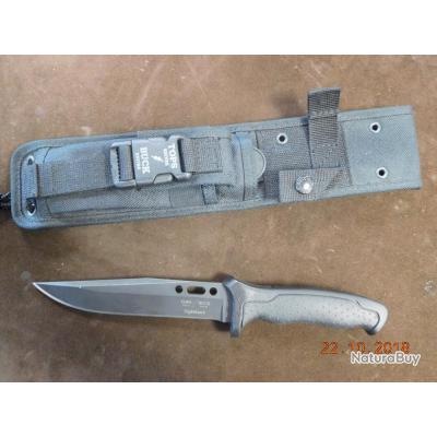 couteaux NIGHTHAWK & fourreau, lame de 15,5cms