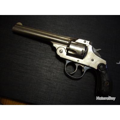 revolver  IVER JOHNSON cal 38 SW