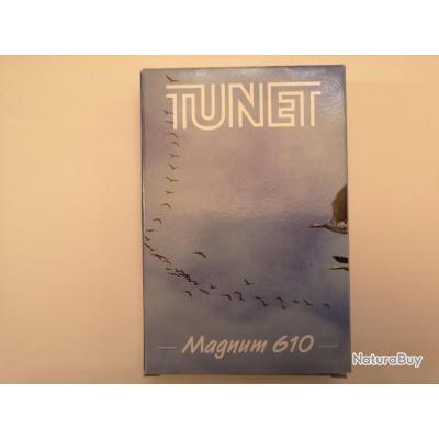 1 boîte de 10 cartouches Tunet Magnum 610  cal 20/76 N°4 SUPER PRIX !!!