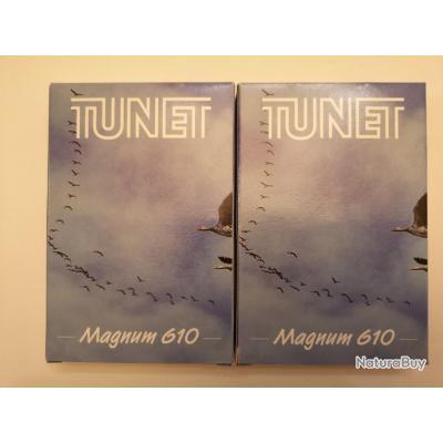2 boîtes de 10 = 20 cartouches Tunet Magnum 610  cal 20/76 N°4 SUPER PRIX !!!