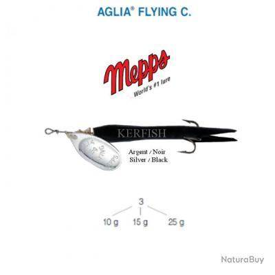 AGLIA® FLYING C. MEPPS 10 g Noir Argent