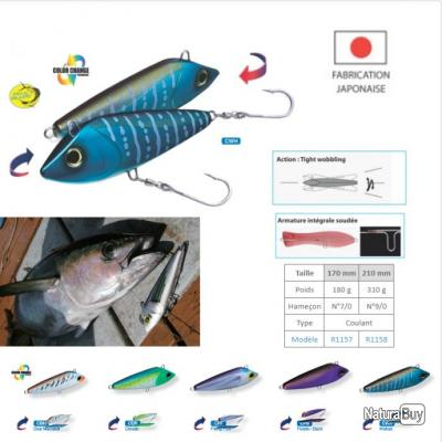 BONITA YO-ZURI 170 mm Blue Mackerel (CBM)