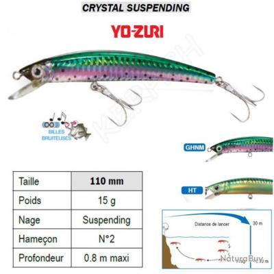 CRYSTAL SUSPENDING YO-ZURI Ecaille Rainbow (GHNM)