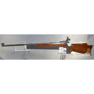 Weirauch HW 60 Match .22 lr mono-coup - Canon lourd, avec dioptre d'origine