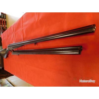 Fusil juxtaposé Artisanal Belge Ou Liégeois d'occasion 70 mm 70 cm, 2 canons