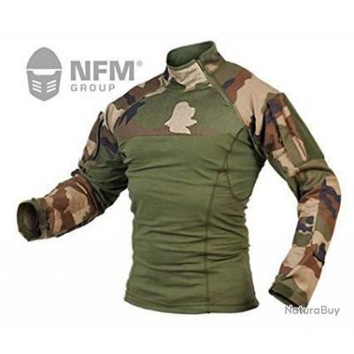 CHEMISE tactique UBAS NFM CE NEUVE (FS) tactical chemise combat nfm