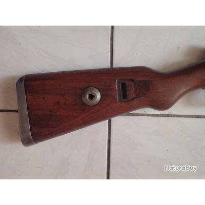 carabine mauser 98K calibre 8X64S