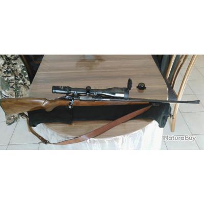 Carabine Brno-CZ M98-7x64+LUNETTE SWAROVSKI 3-12x56