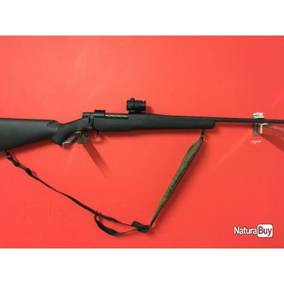 Carabine MOSSBERG Patriot Cal 30-06 + point rouge Nikko Stirling Reflex one à 1€